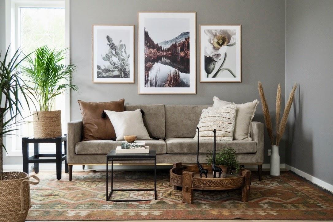 En stue og tre stiler med Kristin Lindhjem